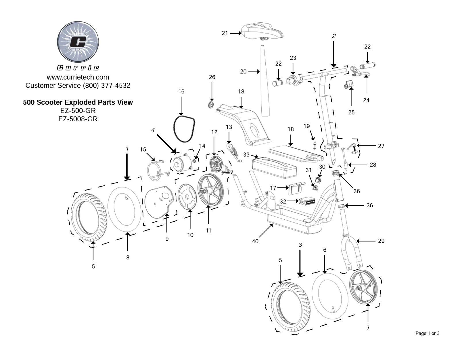 Dorable Currie Scooter Wiring Diagram Embellishment - Electrical ...