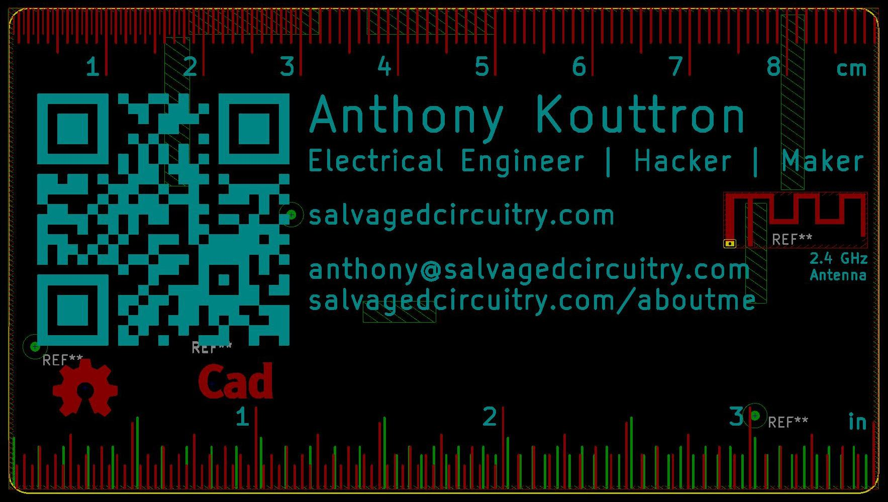 Salvaged Circuitry | Anthony Kouttron