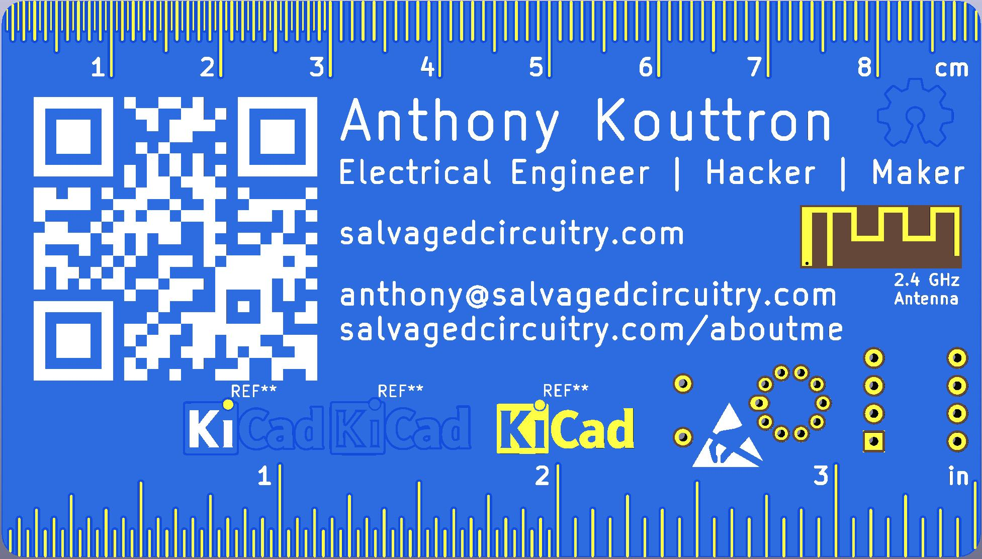 Salvaged Circuitry   Anthony Kouttron